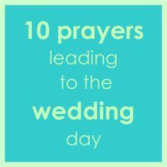 10 prayers to wedding