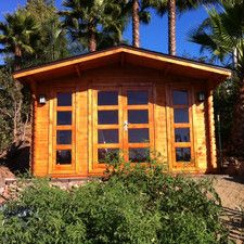 Bristol 13ft. W x 9.5ft. D Solid Wood Garden Shed