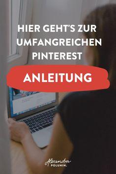 Hast du dich als Selbstständige auch schon mal gefragt, wie du Pinterest richtig nutzen kannst, um denTraffic auf deine Website zu erhöhen und neue EMail Abonnenten zu bekommen?  In meinem Blogartikel erkläre ich dir ganz genau, wie Pinterest funktioniert. Ich gebe dir Tipps für wichtige Pinterest Tools und wie du tolle Pins erstellst, die geklickt werden. Außerdem erfährst du, mit welchen Kosten du beim Pinterest Marketing rechnen kannst. #alexandrapolunin
