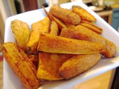 Curry-Cumin Sweet Potato + Carrot 'Fries' | Freshly Grown