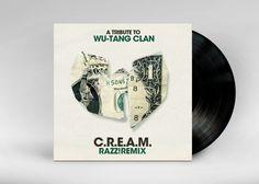A Tribute To Wu-Tang Clan - Artwork by Alexander Kryska, via Behance