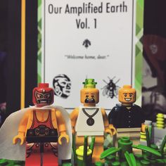 Two years ago, Manolo, Dan, and Lloyd here first opened the door to Our Amplified Earth. Since then, two more episodes were made canon, and the Second Edition emerged as the definitive. 2017 means a podcast, sonnets, and the first part of an epic trilogy. Stay Tuned  #scifi #bookstagram #asmsg #amwriting #lego #legoart #legostagram #livros #libros #diy #autor #bücher #kunst #artist #producer #lucha #luchalibre #mystery #thriller #reading #pkd #books #writerslife #sonnet