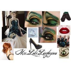 """My Wedding to Loki Laufeyson"" by lkmdance on Polyvore"