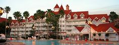 Disney Grand Floridian Resort in Orlando, FL.  I spent a few days here, absolutely one of the BEST hotels I have ever stayed in! <3 it!