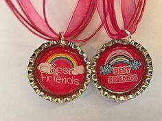Stocking Stuffers BFF Necklaces Besties Best Friends Girls Tweens Necklace Set #BoutiqueChicGallery