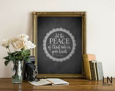 Instant 'Let the PEACE of Christ rule in your by mylovenotedesigns