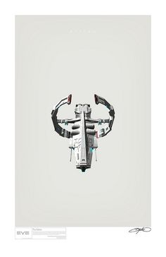 A collection of art print style posters inspired by the spaceships of Eve Online Spaceship Art, Spaceship Design, Eve Online Ships, Robot Art, Robots, Cyberpunk Rpg, Define Art, Starship Concept, Character Concept