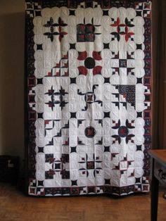 Atarashii quilt. And it is gorgeously clever!