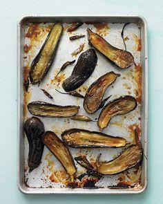 honey roasted eggplant w chiles