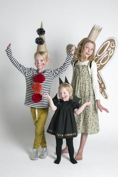 easy DIY clown, baby bat and garden fairy costumes  | mer mag for Kids 21