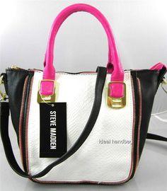 Steve Madden Handbag, Bdarby Studded Satchel - Handbags ...