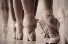 Their grace, facility, diligence and hard work... I admire them so much! Ballerinas