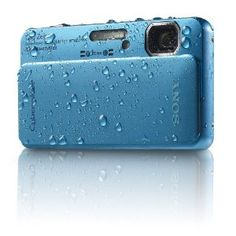 Sony Cyber-Shot DSC-TX10 16.2 MP Waterproof Digital Still Camera with Exmor R CMOS Sensor, 3D Sweep Panorama, and Full HD 1080/60i Video (Blue)  bySony  4.0 out of 5 starsSee all reviews(305 customer reviews) | Like (64)  There is a newer model of this item. See details below, or go to the newer item.  Price:$320.80