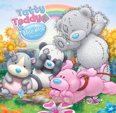 Tatty Teddy © Me to you - Blue Nose Friends Teddy Bear Images, Teddy Pictures, Bear Pictures, Love Pictures, Tatty Teddy, Cute Animal Drawings, Cute Drawings, Funny Animals, Cute Animals