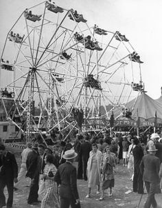 vintage everyday: Old Photos of a Pre-war County Fair in West Virginia 1938