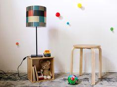 """Lampenschirm für IKEA HEMMA  """"Lausanne"""" von yourdea auf DaWanda.com"""