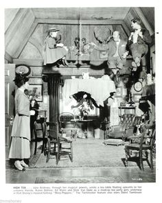 Julie Andrews High Tea Party 1964 Mary Poppins Walt Disney