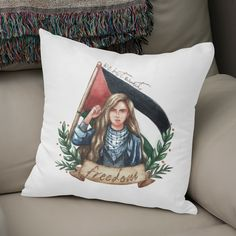 Discover «Girl's Power», Exclusive Edition Throw Pillow by cerince - From $29.5 - Curioos