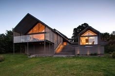Judging for the 2014 NZ Wood Resene Timber Design Awards moves into closing stage with the announcement of finalists. Contemporary Barn, Contemporary Bathrooms, Boat Shed, Shed Homes, Tasting Room, Home Reno, House Front, Design Awards, Design Projects