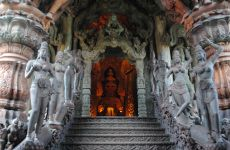 The Sanctuary Of Truth, Chon Buri, Pattaya, Thailand, Asia