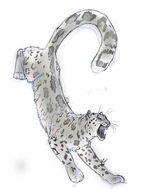 Snow Leopard by whisperpntr.deviantart.com on @deviantART