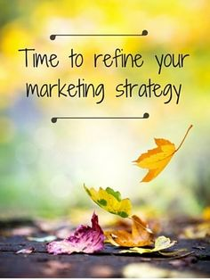 Refocus Your Marketing Campaign This Fall | Small Business PR