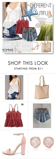 """Romwe"" by mell-2405 ❤ liked on Polyvore featuring Old Navy, Aéropostale, Steve Madden, Monica Vinader and Stella & Dot"