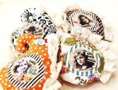 Vintage brooches by Rita Almeida