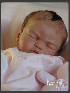 Baby Dust Nursery* Reborn Doll ~ HATTIE ~ by Cassie Peek Prototype #1 | eBay