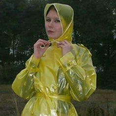 i will block you if you have no posts Vinyl Raincoat, Pvc Raincoat, Rain Bonnet, Plastic Mac, Rain Suit, Rain Wear, Aurora Sleeping Beauty, Women Wear, Macs