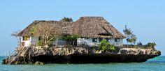 Zanzibar - Restaurant The Rock Altijd Baas boven Baas