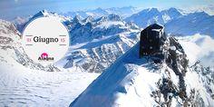 Capanna Margherita, Alagna Valsesia.  #Alps #Travel #Outdoor www.alagna.it