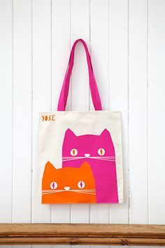 Ronnie and Frank Tote Bag from YOKE SHOP.