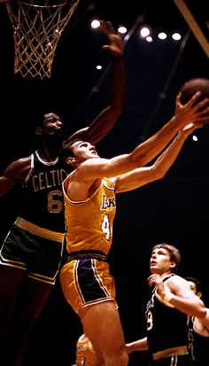 Bill Russell & Jerry West