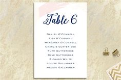 The most beautiful and unique wedding invitations, RSVP cards, and other wedding stationery available in Ireland, the UK and worldwide. Table Seating Chart, Seating Chart Wedding, Unique Wedding Invitations, Wedding Stationery, Brush Strokes, Rsvp, Seating Charts, Wedding Invitation, Wedding Invitations