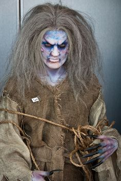 IMATS Vancouver 2011- this would be a great look for my creepy scarecrow.
