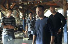 The NCIS team: Los Angeles