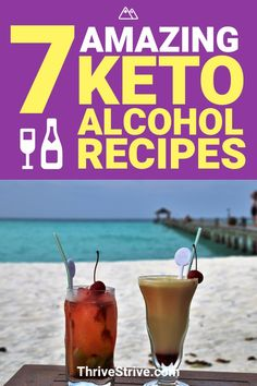 These 7 keto alcohol recipes are going to allow you to stay in ketosis on your night out while you're on the ketogenic diet.