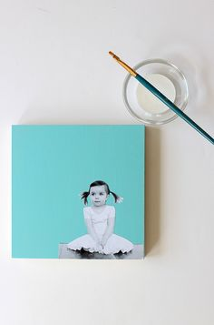 Make this for Mother's Day! DIY Photo Wall Art | alice & lois