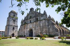 Explore Philippines holidays and discover the best time and places to visit. Philippines Destinations, Philippines Travel, Places Around The World, Around The Worlds, Ilocos, Building Photography, Church Architecture, Island Life, Heritage Site