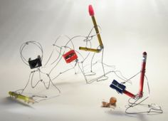Terry Border and his Really Bent Objects reveal an original and talented art which is most amusing. How does it strike you?