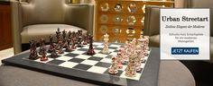 Urban Streetart Schachfiguren - Zeitlose Eleganz der Moderne >> http://www.chessbazaar.de/berliner-strassenkunst-schachfiguren-urban-streetart-schachfiguren-handarbeit-aus-bemaltem-und-bunt-gesprenkeltem-buchsbaumholz-konig-114-mm.html
