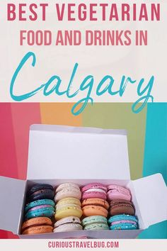 Where to eat and drink in Calgary. The best vegetarian food and vegan food at restaurants in Calgary. The food, dessert, and drink guide you need for your trip to Calgary. The best food for a weekend getaway to Calgary. Calgary Restaurants, Great Restaurants, Vegetarian Food, Vegan Food, Quebec, Vancouver, Toronto, Tea Website, Alberta Travel
