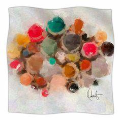 "East Urban Home La Maddalena by Oriana Cordero Fleece Blanket Size: 40"" L x 30"" W"