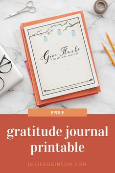 Smooth out the rough edges of your busy days and instantly brighten your outlook as you use this FREE printable gratitude journal by bestselling author Josie Robinson. #gratitude #journalideas Gratitude Jar, Gratitude Journals, Journal Template, Journal Prompts, Self Improvement, Bestselling Author, Free Printables, Smooth, Positivity