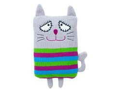 Hottie Pussy Cat Quirky Hotty Annabel Trends Alternative Hot Water Bottle New