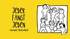 wochenziel Team Building, Comics, Funny Fashion, Group Games, New Media, Cool Drawings, Serenity, Cartoons, Comic