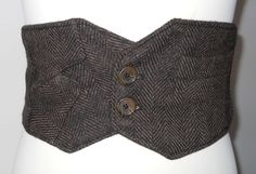 Penny Brown Steampunk Belt - Penny Brown Steampunk Belt. $31.00, Via Etsy.