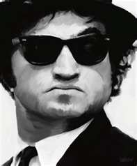 John Belushi sense of humor and to see what he was like when not performing