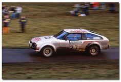 Toyota Celica. 1980 Lombard RAC Rally GB.